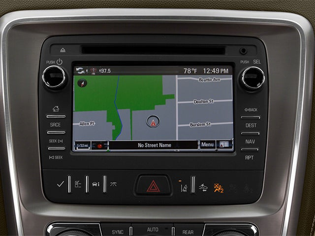 2013 Gmc Acadia Denali In St Peters Mo Bommarito Rhbommaritomazdastpeters: Gmc Acadia Navigation With Radio Off At Gmaili.net